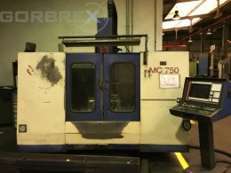 CNC Pionowe Centrum Obróbcze LAGUN Model: MC-750