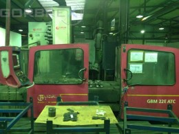 CNC 5-axis Bed Type Milling Machine LAGUN Model GBM 22E