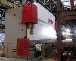 Hydraulic Press Brake BEYELER Model: PR10, capacity 1250 tones