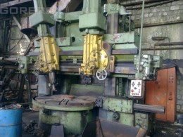 Vertical Lathe Double Column NILES Model: DKZ 2000